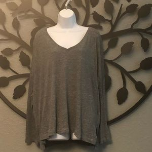 Plus size old navy long sleeve top